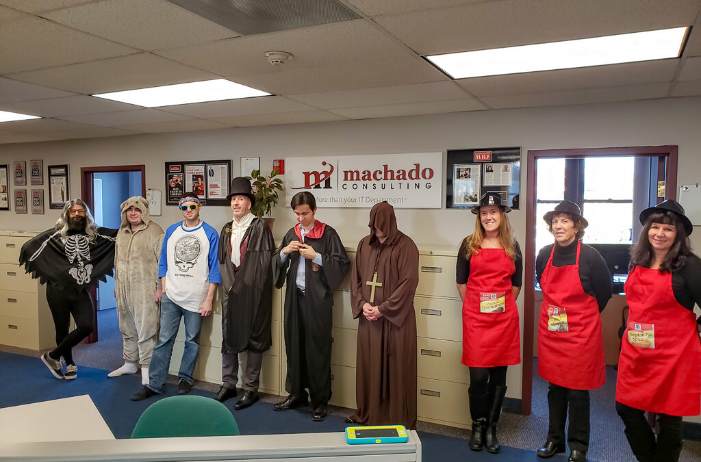 Machado's Halloween Costume Contest!
