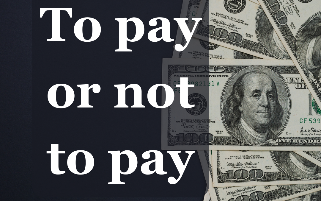 To Pay or Not to Pay? Ransomware During COVID-19